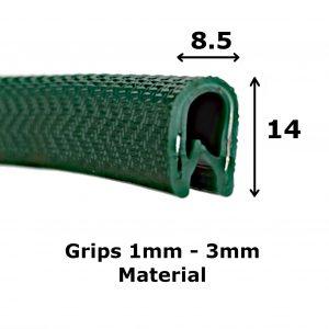 green edge trim