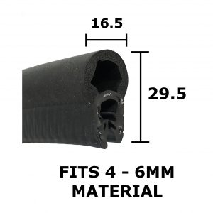 large rubber boot seal