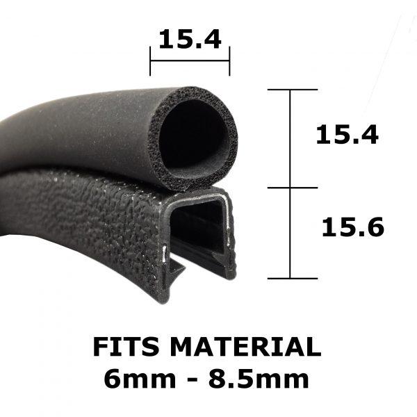 large boot seal trim