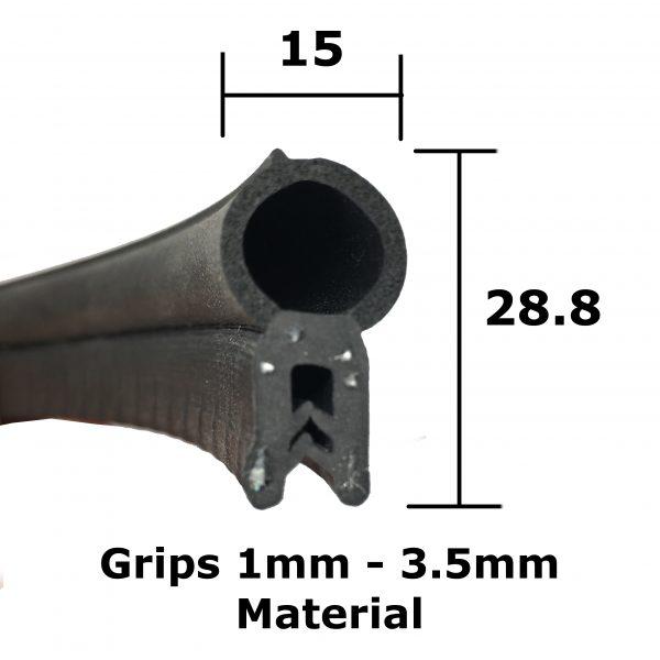 medium boot seal