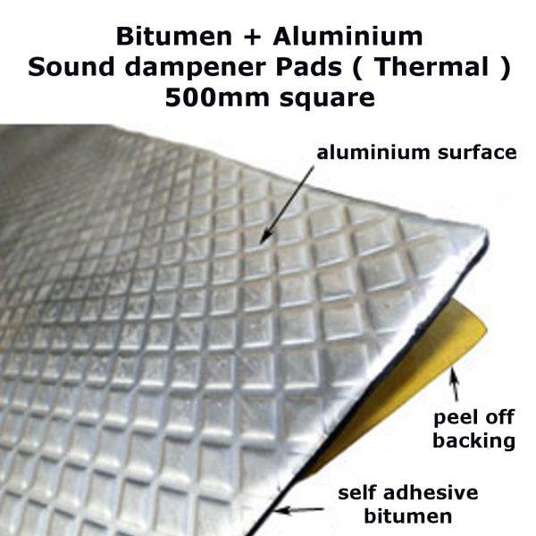 Aluminium Bitumen Pad