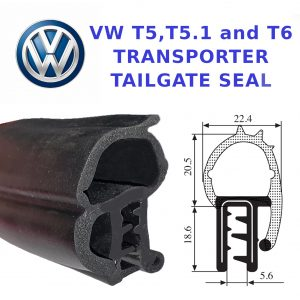 T5 TAILGATE BOOT SEAL