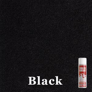 Black 4 way stretch van lining carpet