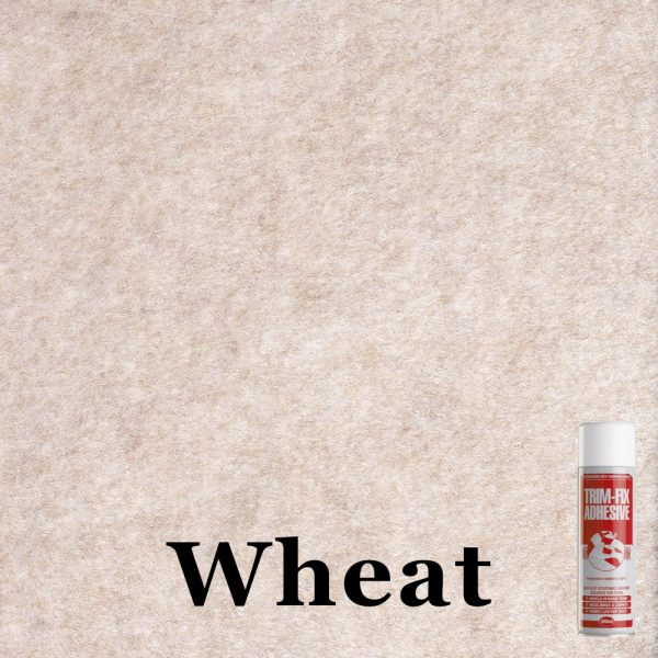 Wheat 4 way stretch van lining carpet