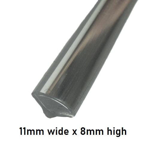 Chrome Insert for Claytonrite Windscreen Rubbers